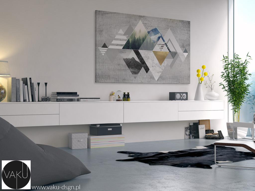 góry minimalizm obraz