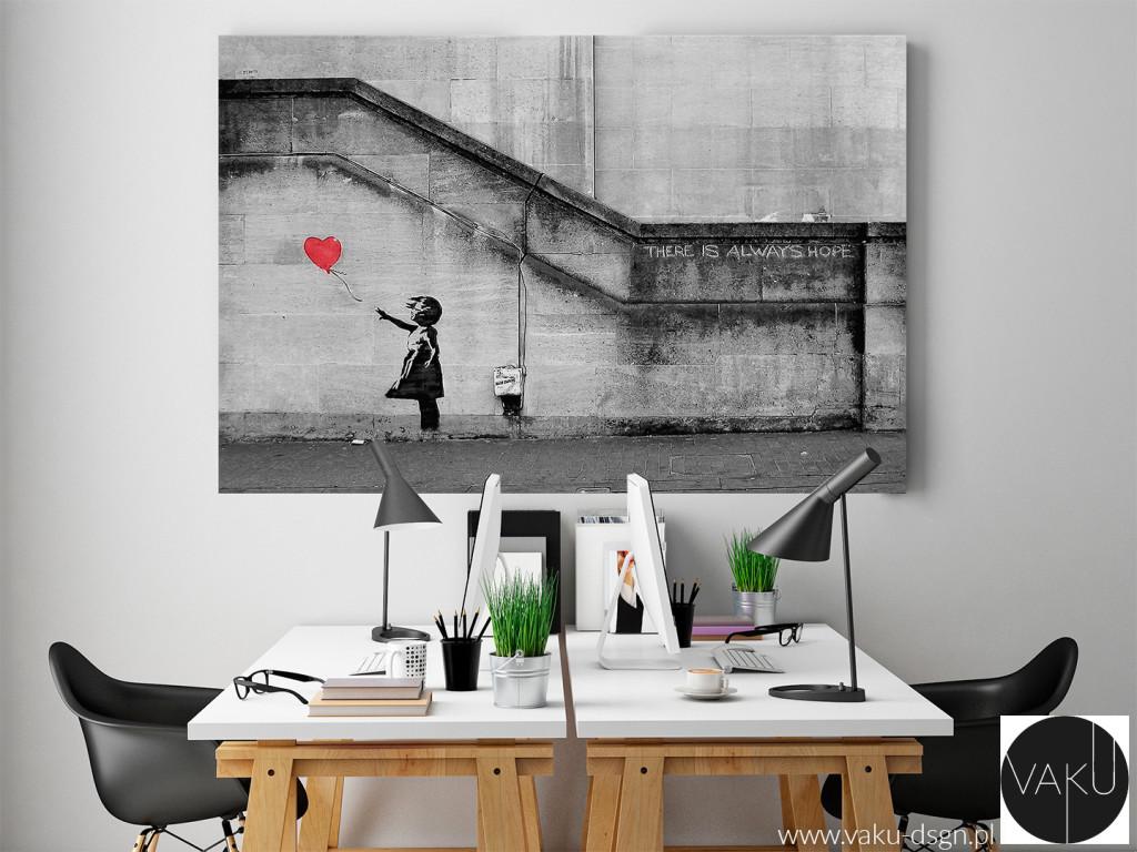 Banksy - dziewczynka z balonikiem