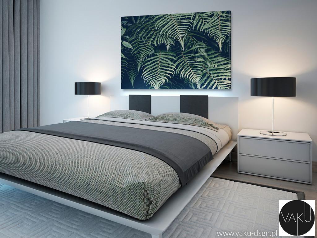 obraz z motywem roślinnym