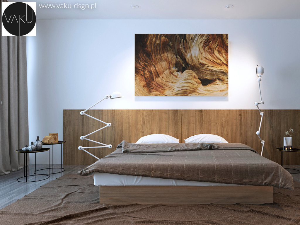 sypialnia drewno