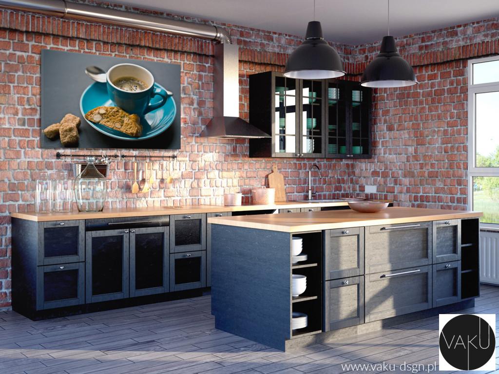 kuchnia - styl industrialny