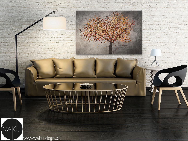 Obraz na płótnie jesienne drzewo
