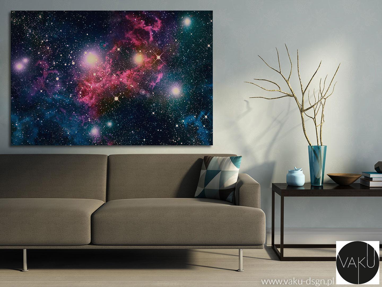 obraz w stylu galaxy