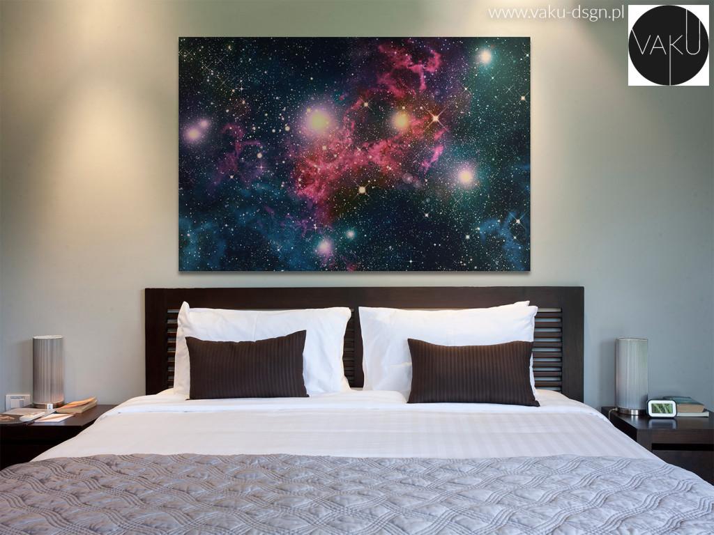 obraz niebo gwiazdy galaxy