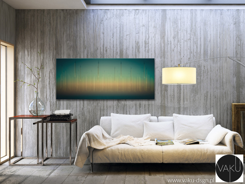 obraz panoramiczny abstrakcja