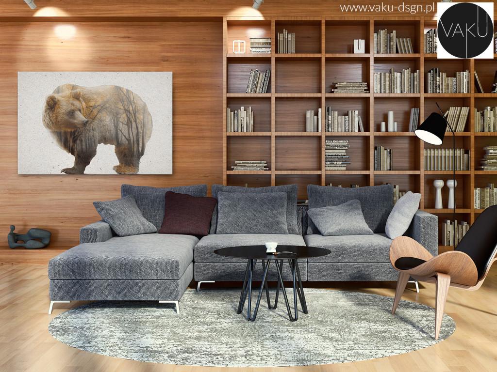 obraz niedźwiedź