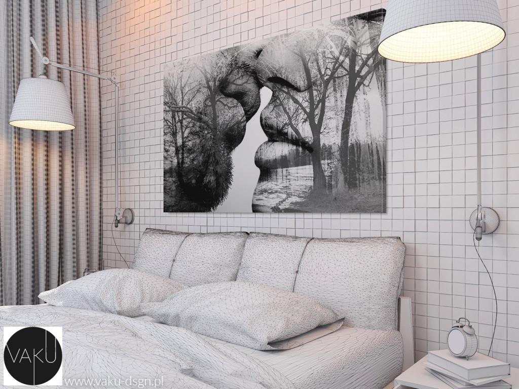 Kompozyty gipsowe sypialnia