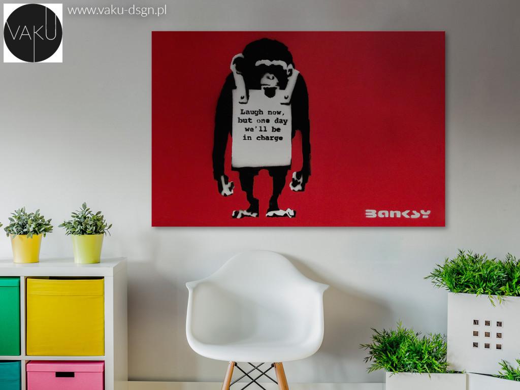 Banksy - Małpa