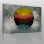 Wszystkie kolory podróży - nowoczesny obraz na płótnie