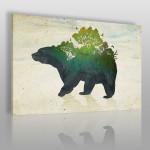 obraz z niedźwiedziem