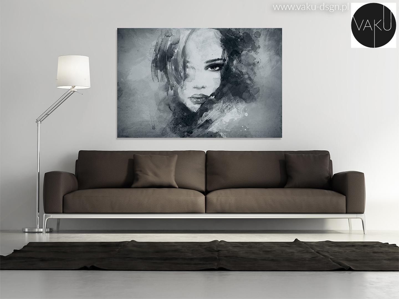 obraz z kobietą