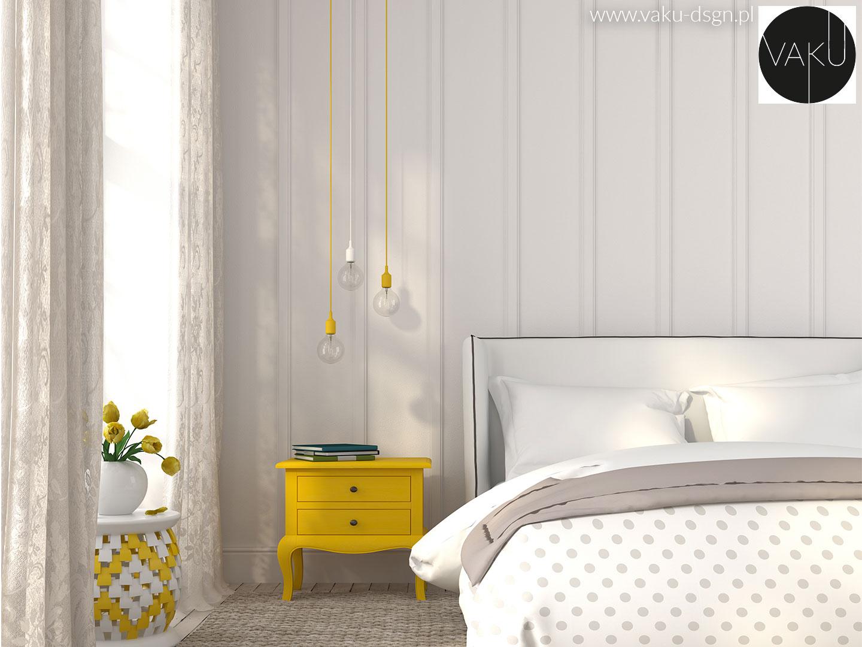 szary i żółty we wnętrzach