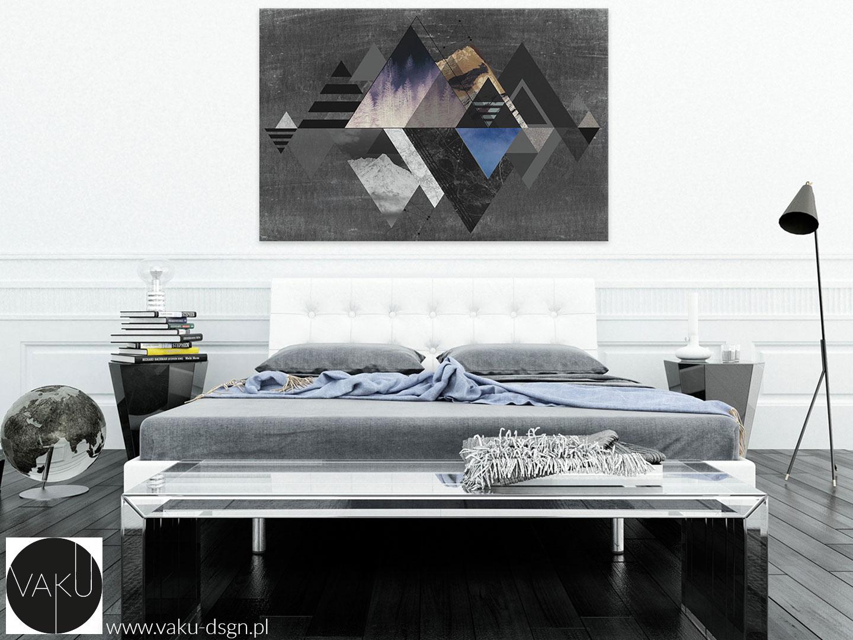 Sypialnia w stylu duńskim