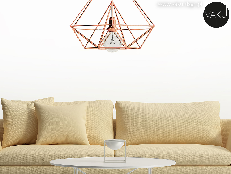 geometryczna lampa
