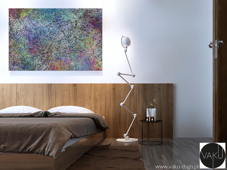 obraz - ekspresjonizm abstrakcyjny