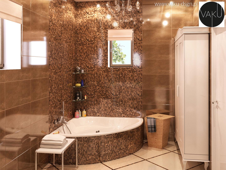 kafelki mozaikowe w łazience