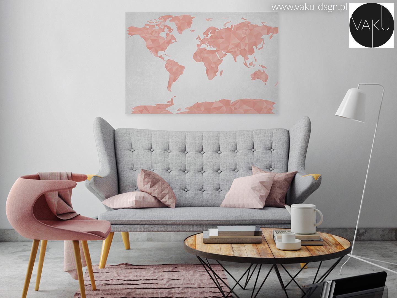 pastelowa sofa