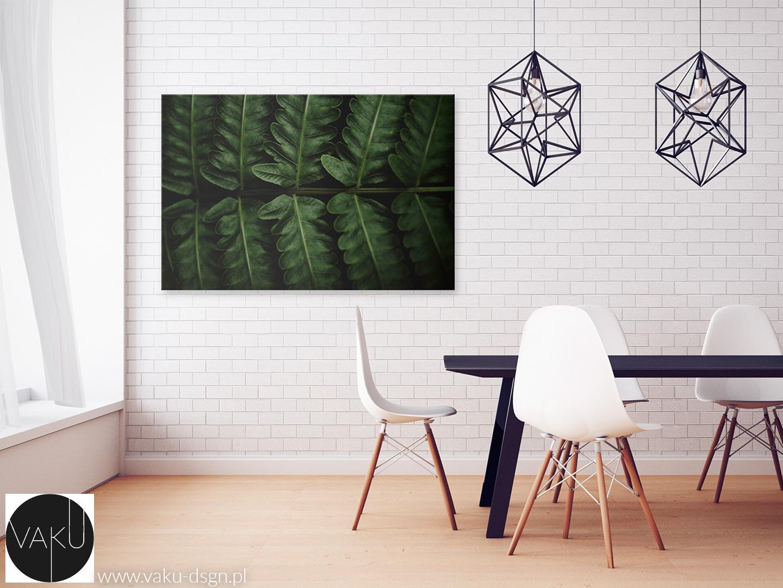 fotoobraz z liściem