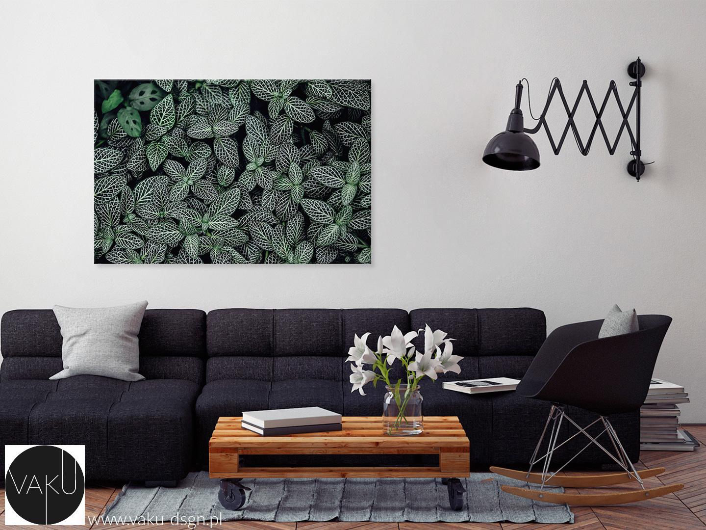 fotoobraz z liśćmi