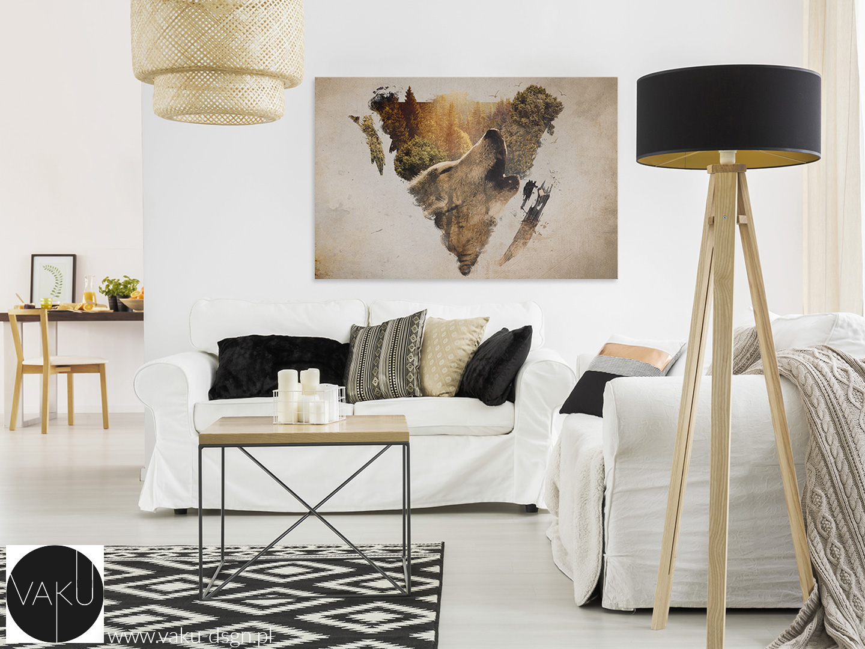 biała sofa i fotel
