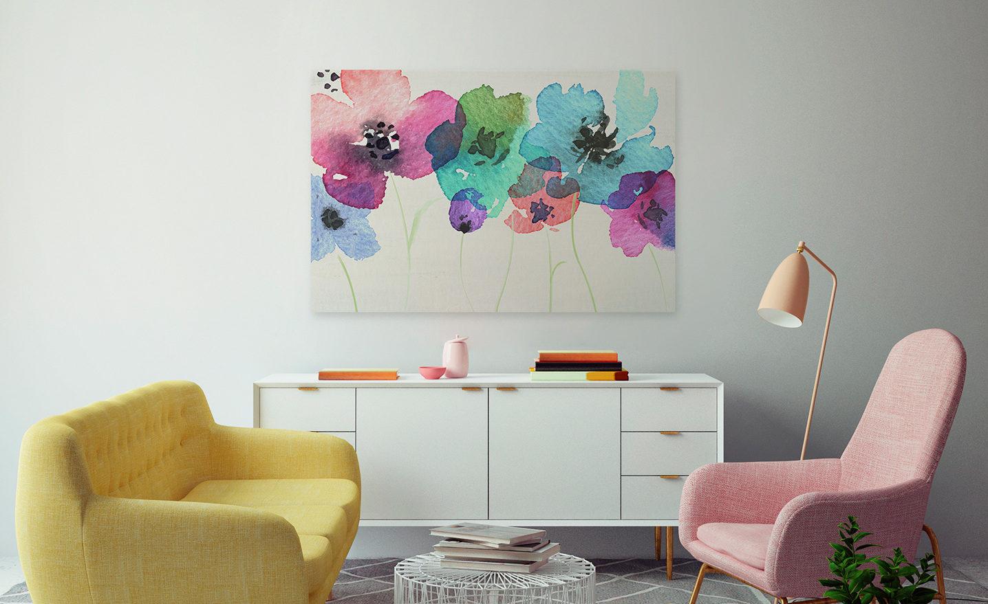kolorowe sofy