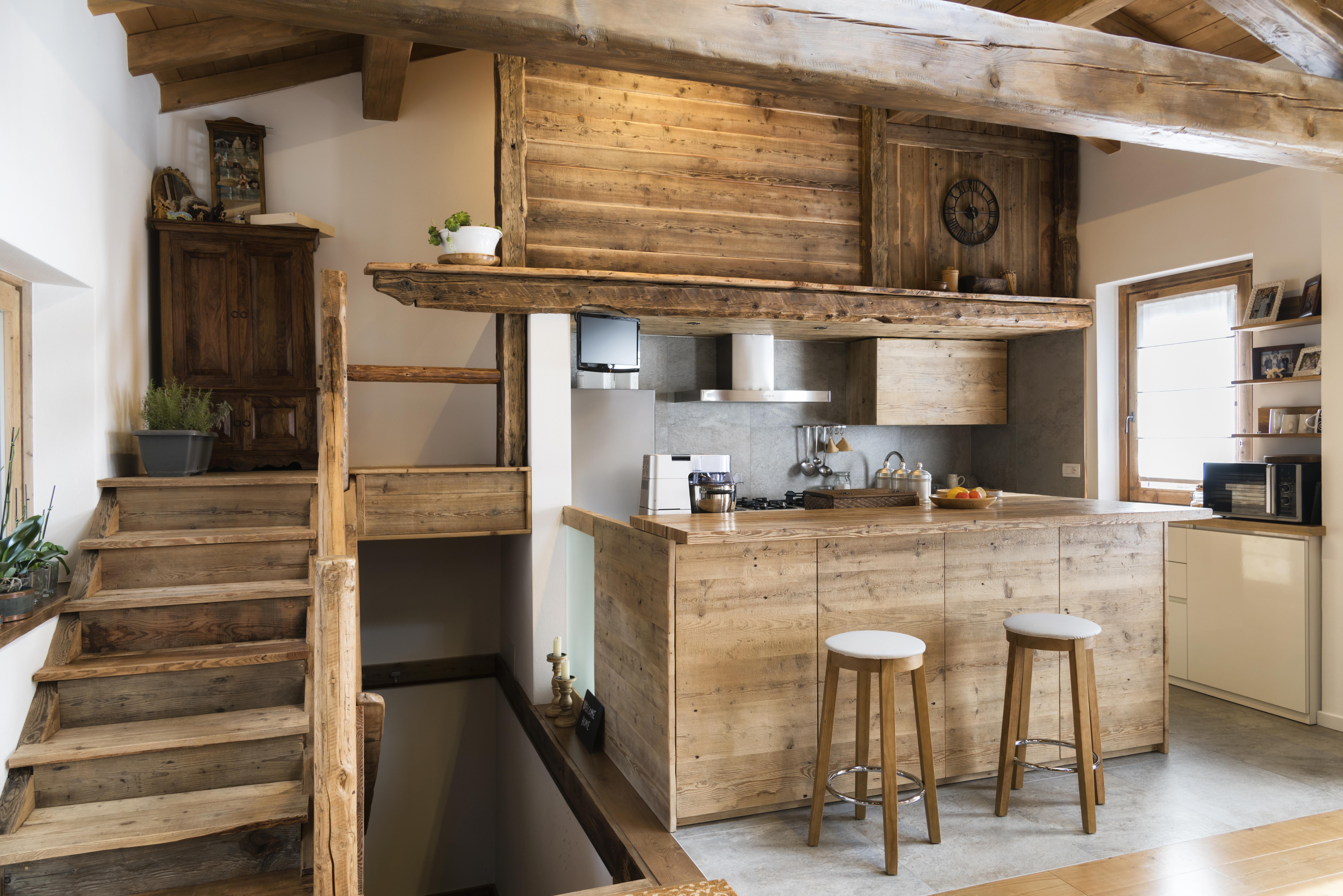 Aranżacja Domu W Drewnie Blog Wnętrzarski Vaku Dsgn
