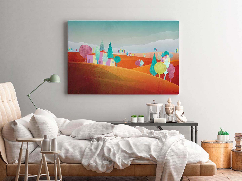 obraz z Toskanią