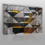 geometryczny obraz w stylu Bauhaus