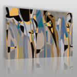 abstrakcyjny obraz w stylu Bauhaus