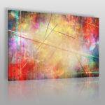 kolorowy obraz w stylu abstrakcyjnym
