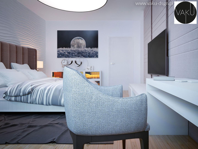 zimowy fotoobraz do sypialni