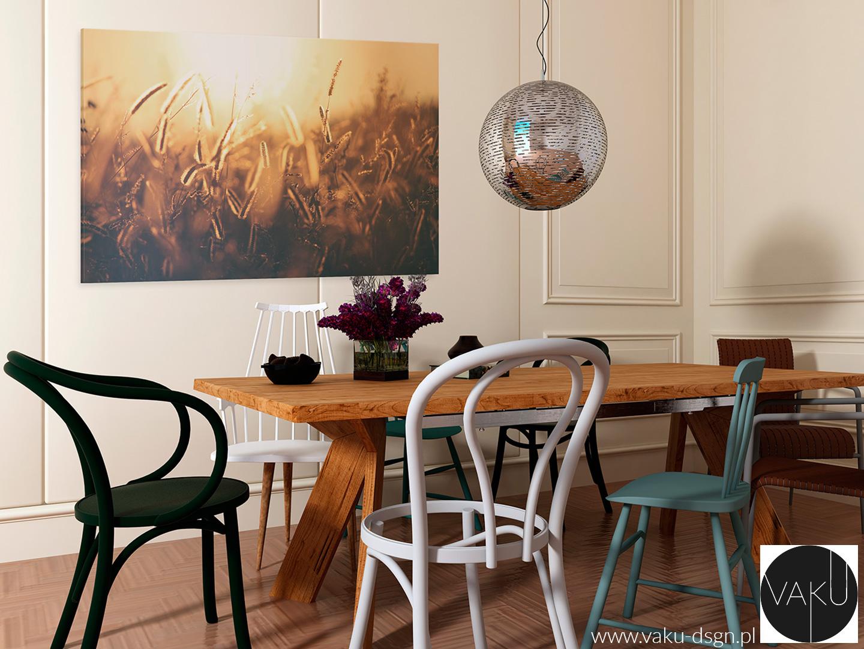 fotoobraz z motywem pola w stylu rustykalnym